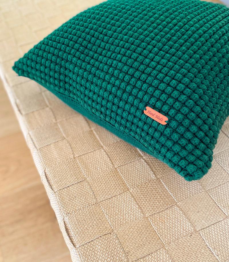 Pops Jens Bobble Stitch Pillow