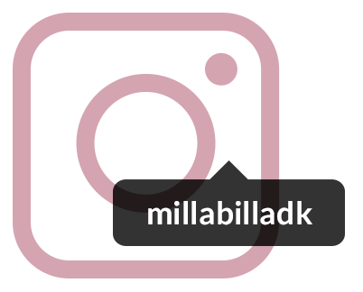 Instagram: millabilladk